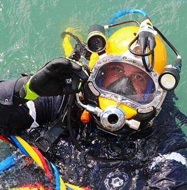 Military Skill Sets Translate Well To Diving