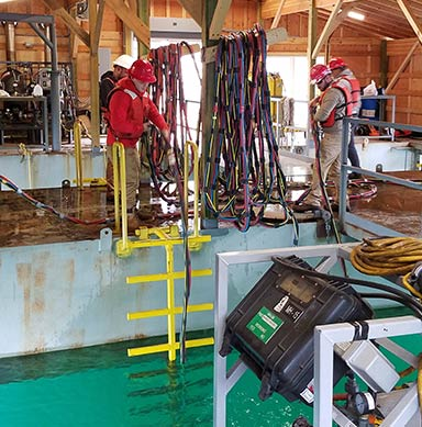 Commercial Diving Training Facilities