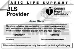 American Heart Association First Aid, CPR, and AED Certifications of Competition card